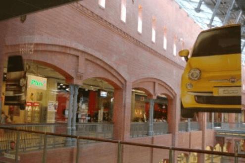 4 Początki Fiat w galeriach handlowych