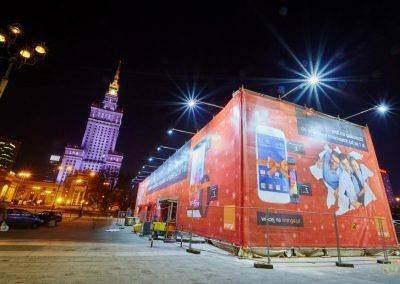HM 10 400x284 Orange: Największy prezent w Warszawie