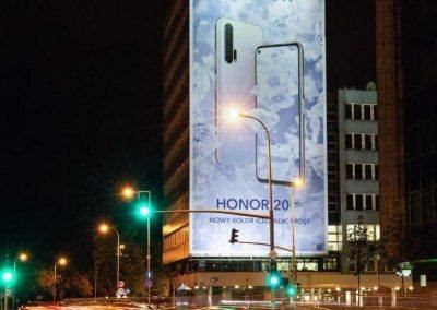 2 10.2019 Honor Warszawa Wisłostrada Solec 3 400x284 Honor 20 Pro Wielki format
